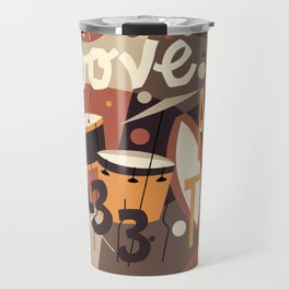 Percussion Jazz Travel Mug