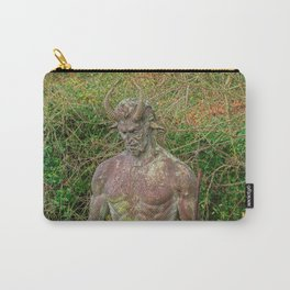 Jersey Satyr Statue Carry-All Pouch