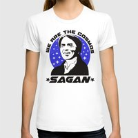 sagan T-shirts featuring Carl Sagan we are the cosmos v2 by Buby87