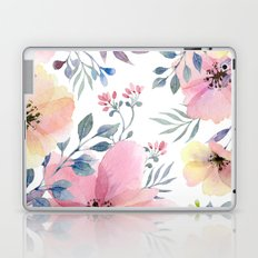flower watercolor 1 Laptop & iPad Skin