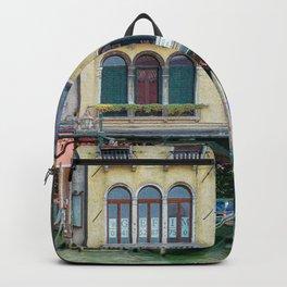 Venice Architecture Gondolas Backpack