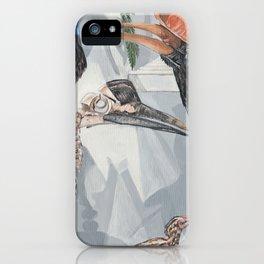 Hornbill Exhibit iPhone Case