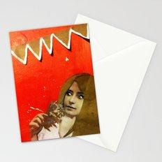 Victorian Orange Stationery Cards