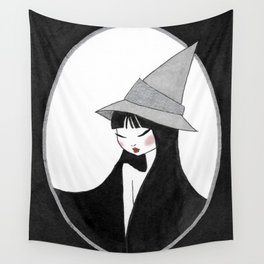 Inktober witch 1 Wall Tapestry