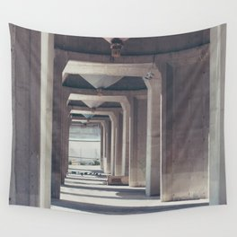 Building Wall Tapestry
