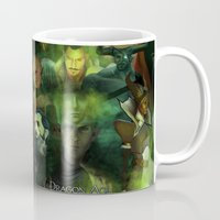 dragon age inquisition Mugs featuring The Inquisition by Nero749