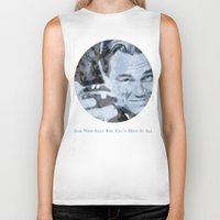 the great gatsby Biker Tanks featuring Great Gatsby by Instrum