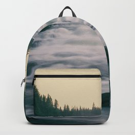 Flowing water in a river Backpack