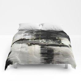 Transformative Space - Glitch 01 Comforters
