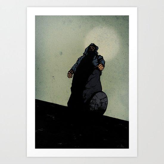 The Menace Art Print