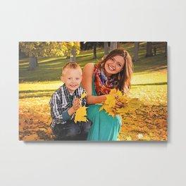 Family Shoot-Bree & Silas2 Metal Print