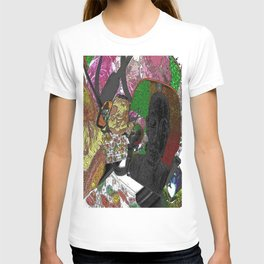 Whacky Bags pattern T-shirt