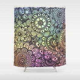 acuarelas Shower Curtain