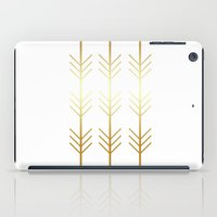 stay gold iPad Cases featuring stay gold by Reckless Crush
