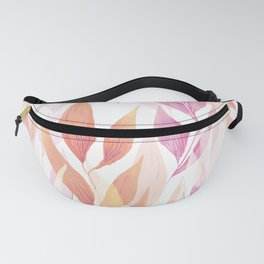 Watercolor Spring Style Fanny Pack