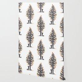 Hoot Lodge Wallpaper