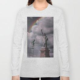 Statues of liberty Long Sleeve T-shirt