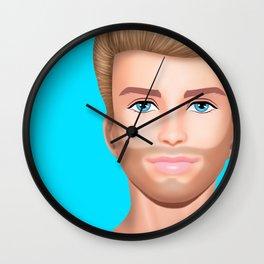 Ken Needs to Talk! Wall Clock