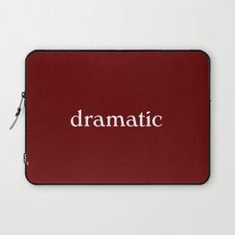 dramatic woman Laptop Sleeve