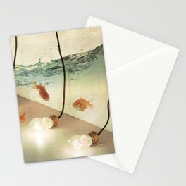 ideas and goldfish Stationery Cards