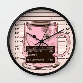 Mugshot Wall Clock