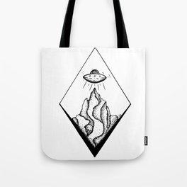 UFO Launch Tote Bag