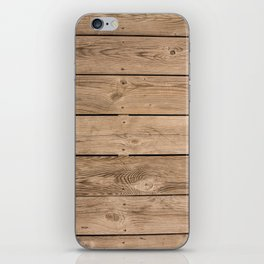 Wood I iPhone Skin