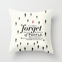 paper towns Throw Pillows featuring Paper Towns by thatfandomshop