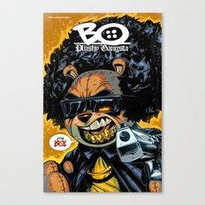 Bo: Plushy Gangsta new art print Canvas Print