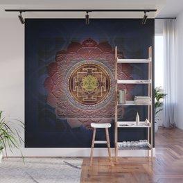 Sensual Flow Lakshmi Meditation Mandala Wall Mural