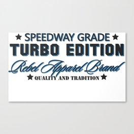 speed way turbo Canvas Print