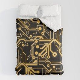 Techno Organic  Duvet Cover