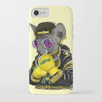 hiphop iPhone & iPod Cases featuring Boxing Cat 3 by Tummeow