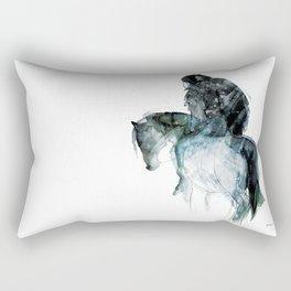 Horse (Ghost rider) Rectangular Pillow