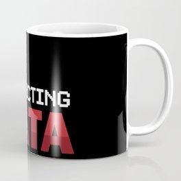 Data Analyst Analytics Collecting Data Is My Cardio  Coffee Mug