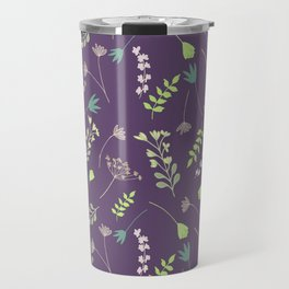 Wispy Cottage Garden Travel Mug