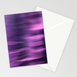 PURPLE PANNING Stationery Cards
