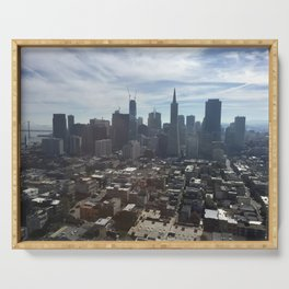 San Francisco California Serving Tray