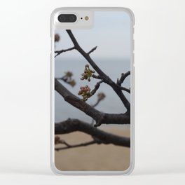 Flowering buds Clear iPhone Case