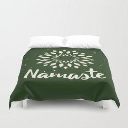 Namaste Mandala Flower Power Duvet Cover