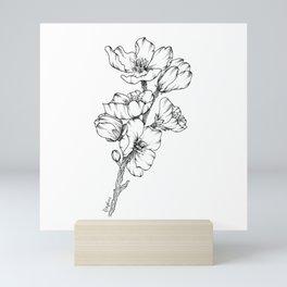 Magnolia Branch Mini Art Print