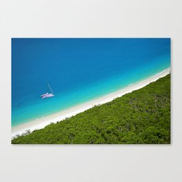 Whiteheaven Beach Canvas Print