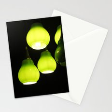 Green Lamps Stationery Cards