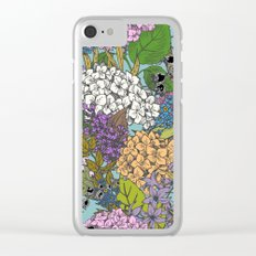 Floral Pattern 03 Clear iPhone Case