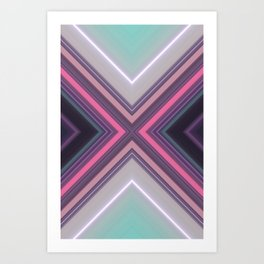 Fake Space Art Print