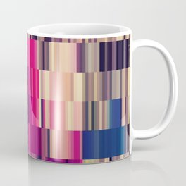 Abstract summer bright square pattern Coffee Mug