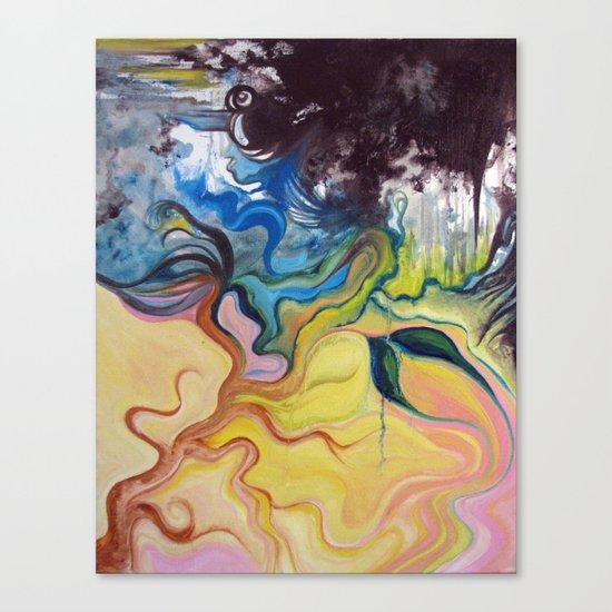 lazy susan Canvas Print