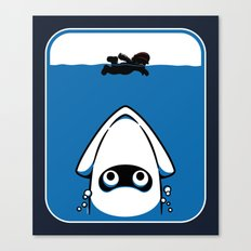 The Great White Blooper Canvas Print