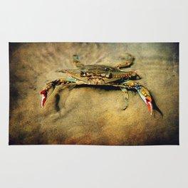 Blue Crab Rug