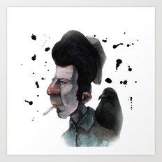 Mr. Tom Art Print
